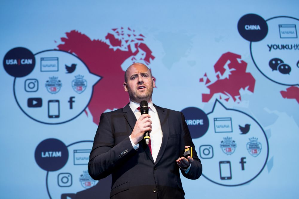 DFL chief executive Andreas Heyden